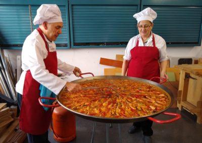 10 Gastronomía española PAELLA