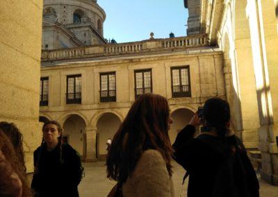 El Escorial. Patio