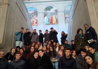 Escalera Regia. El Escorial