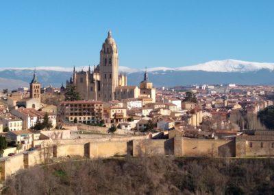 Vistas catedral Segovia